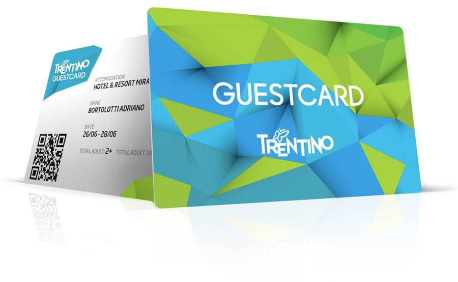 Guestcard Trentino Gardasee